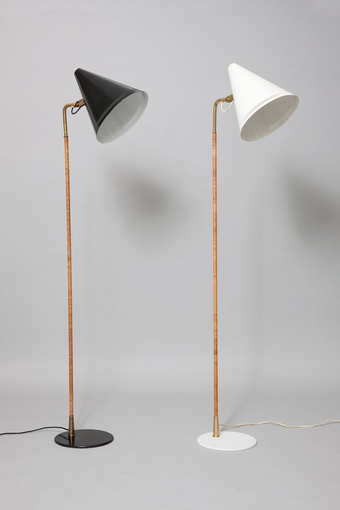 Paavo Tynell painted metal cane brass product category page