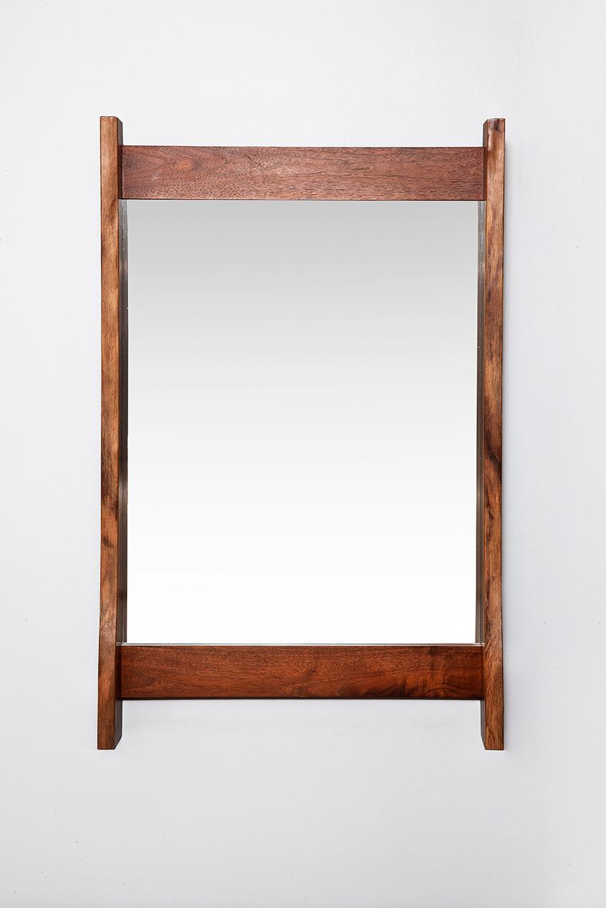 George Nakashima walnut mirror