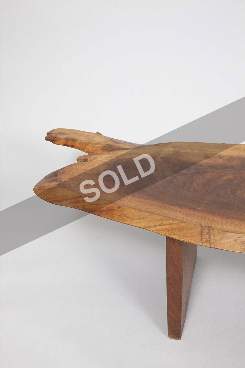 George Nakashima walnut table
