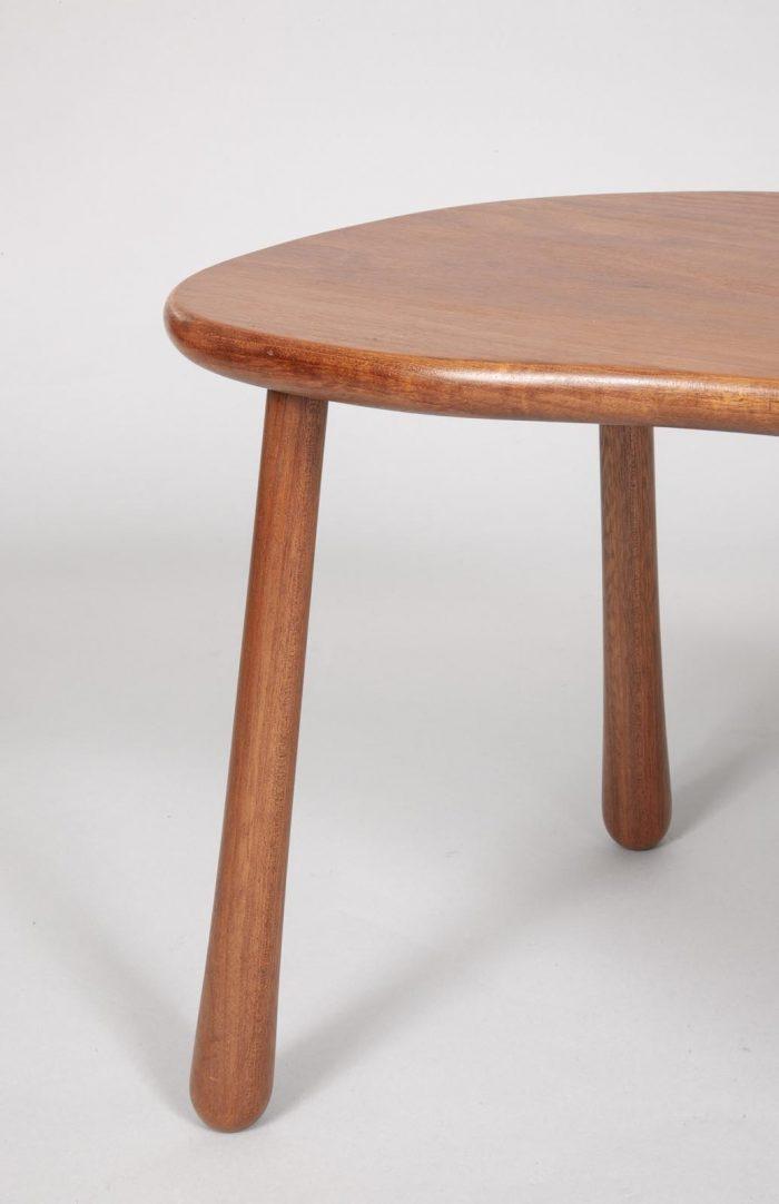 Josef Frank mahogany table / stool