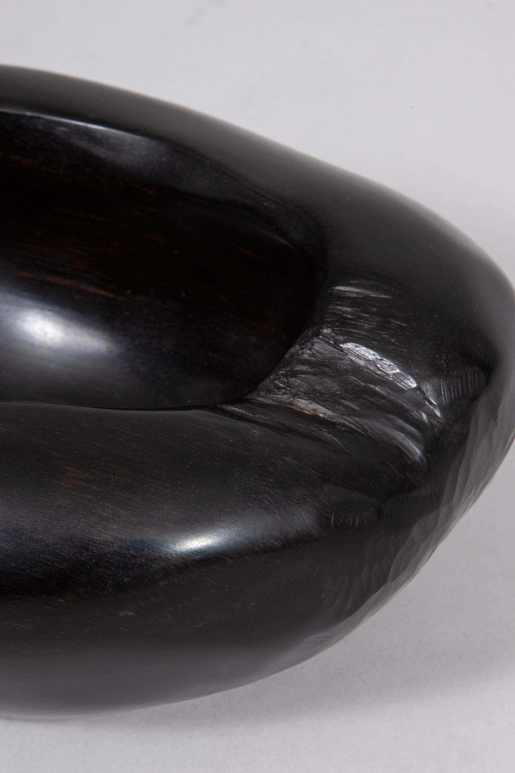 Alexandre Noll black bowl