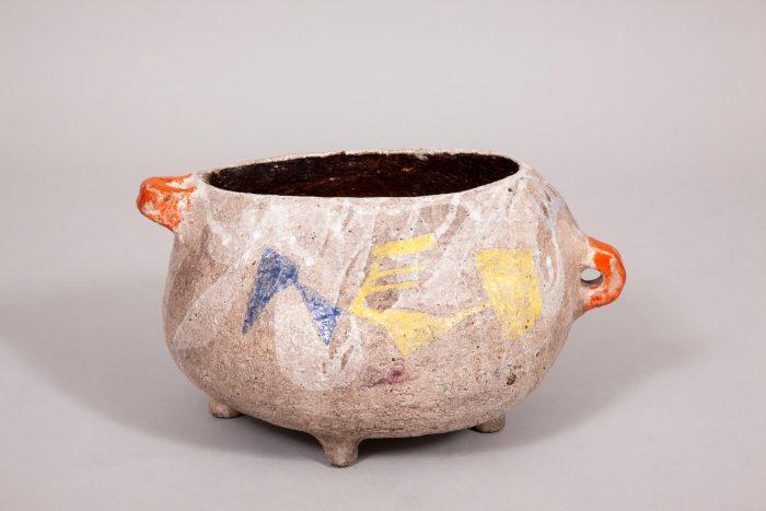 Juliette Derel ceramic bowl, France, 1960