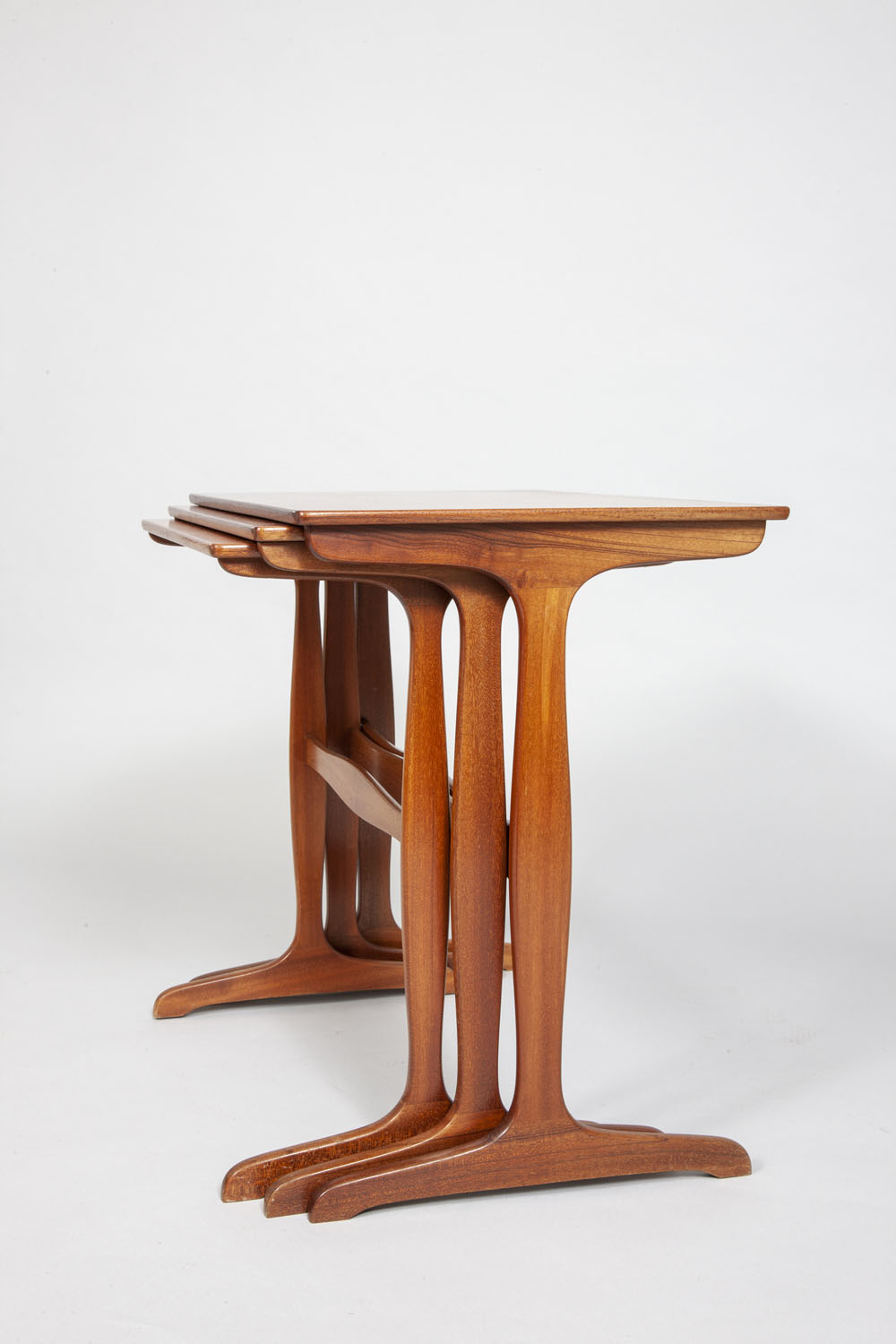Ole Wanscher trio of little tables