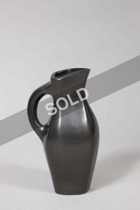 Georges Jouve black vase