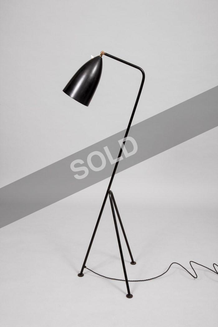 Greta Grossman black lamp