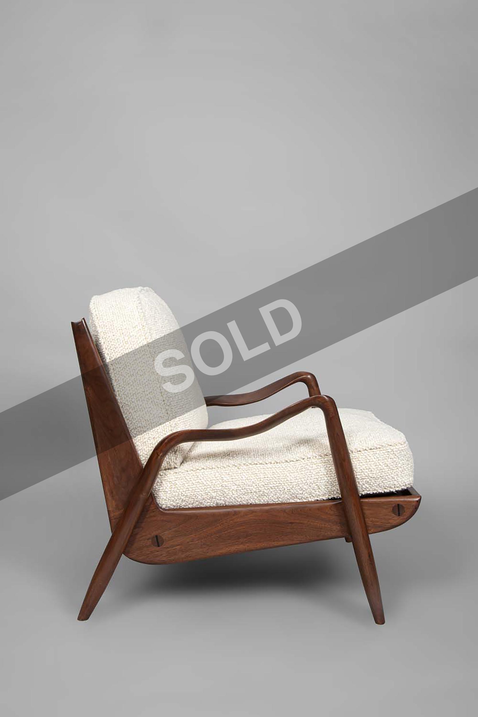 Phillip Lloyd Powell walnut chairs